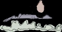 Illustration zum Braunschweiger Löwe in Blankenburg